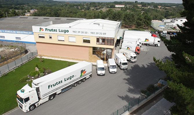 Frutas Lugo, fachada