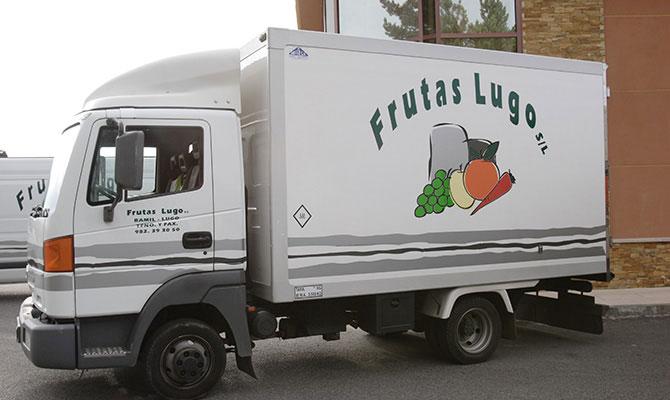 Frutas Lugo camión