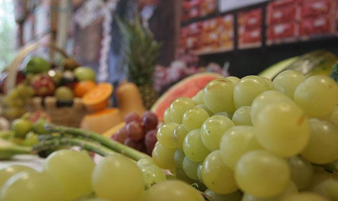 Frutas Lugo, uvas